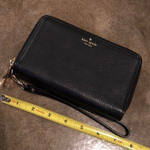 Kate Spade Leather Wristlet Wallet